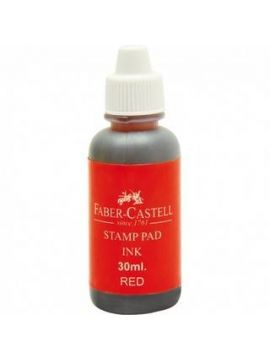 Faber Castle Stamp pad Ink(Red)