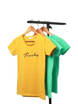 Weekend Yellow T-Shirt