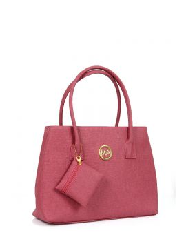 Rose Pink Hand-held bag