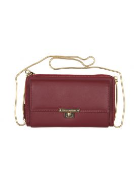 Wine Tinted Clutch